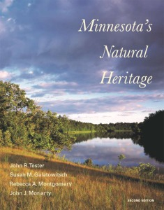 Cover of the second edition of Minnesota's Natural Heritage